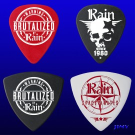 Rain (Pack of 4 picks)
