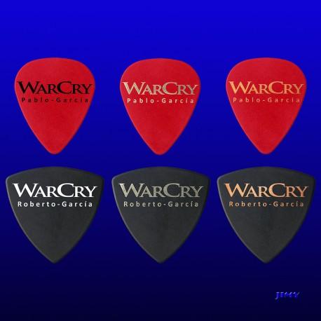 Púas personalizadas Warcry