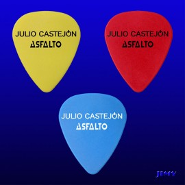 Asfalto (Pack of 3 picks)