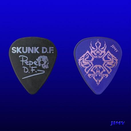 """Púas personalizadas Skunk D.F """"Pigmalión"""""""