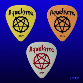 Aquelarre Metalrock Fest  (Pack of 3 picks)