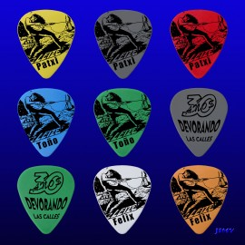 "Leize ""Devorando las calles"" (Pack of 9 picks)"