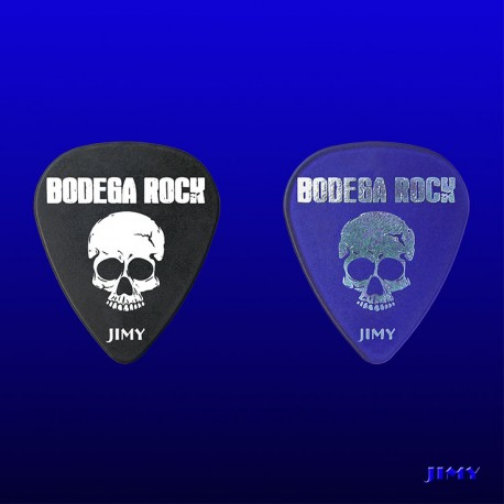 Púas personalizadas Bodega Rock