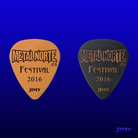 Metal Norte  (Pack of 2 picks)