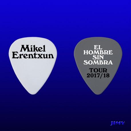 Púas personalizadas Mikel Erentxun