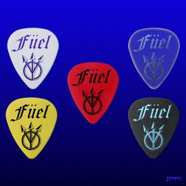 Füel (Pack of 5 picks)