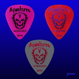 Aquelarre Metalrock Fest 2017 (Pack of 3 picks)