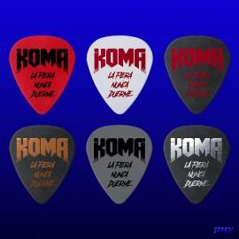 Koma (Pack de 6 púas)