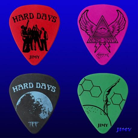 Hard Days (Pack of 4 picks)