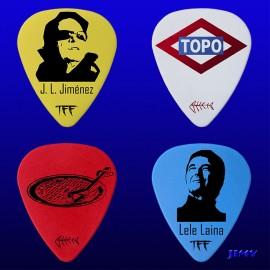 Topo (Pack de 4 púas)