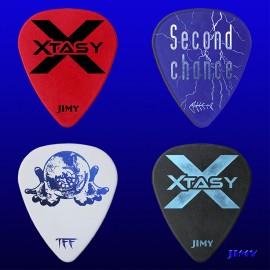 Xtasy (Pack de 4 púas)