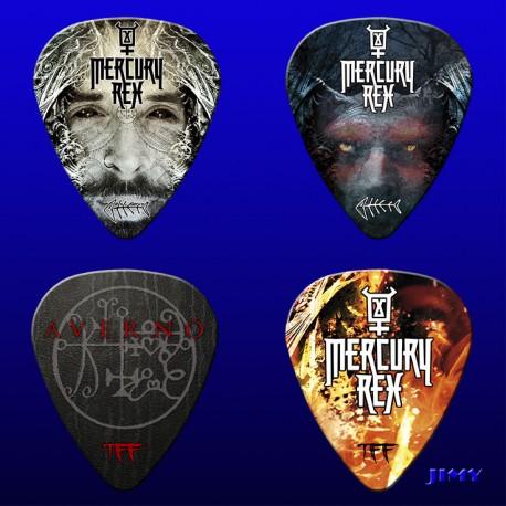 Mercury Rex (Pack of 4 picks)