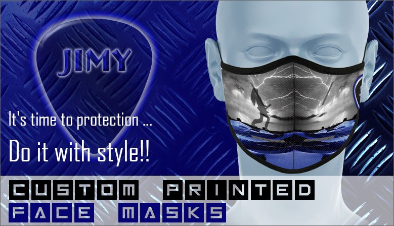 Custom Printed Face Mask